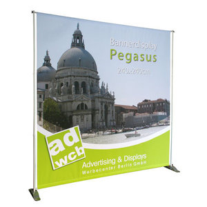 "Bannerdisplay ""Pegasus"" with print"