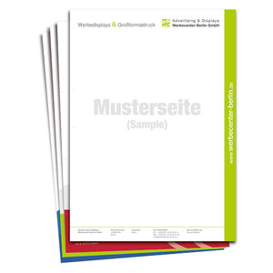 letterhead 4/1 CMYK - double-sided