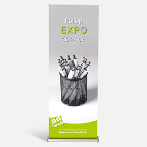 "Retractable Banner ""Expo"" incl. print"