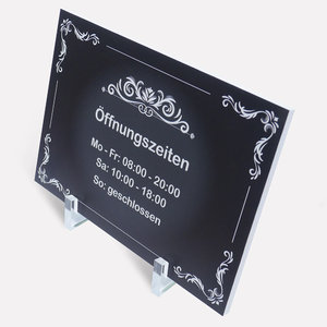 acrylic-holder for signs