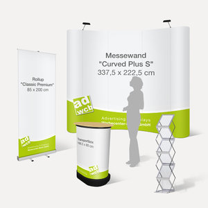 "Messe Komplett-Set ""Curved Plus"" Eco (ohne B1)"