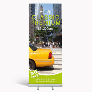 "Retractable banner ""Classic Premium"" incl. print + bag"