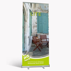 "Retractable Banner ""Lite"" incl. print + bag"