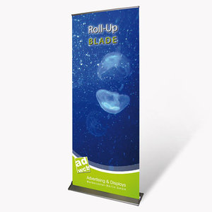 "Retractable Banner ""Blade"" incl. print"