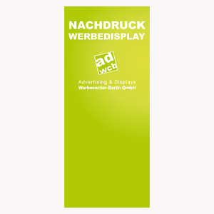 "Nachdruck RollUp ""Lite"", ""Single"", ""Classic, ""Double"" 85x200cm"