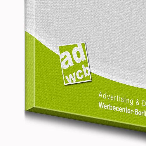 Canvas Foto Leinwand mit Rahmen 30x20cm - Werbecenter Berlin GmbH