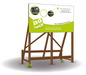 Construction Signboards incl. print