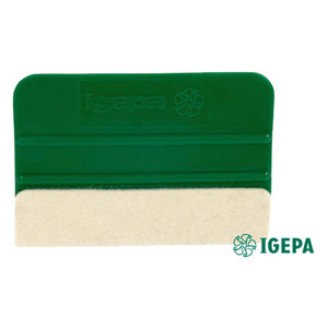 Squeegee green - with felt