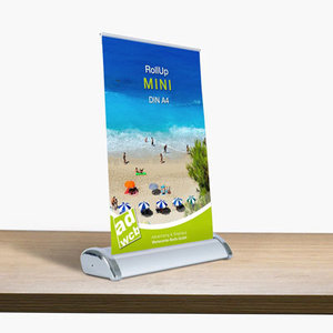 "Retractable banner ""Mini"" incl. print"