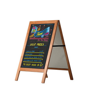 "Aufsteller ""Wooden Pavement Sign"" 60x80cm"