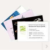 100 business cards with print